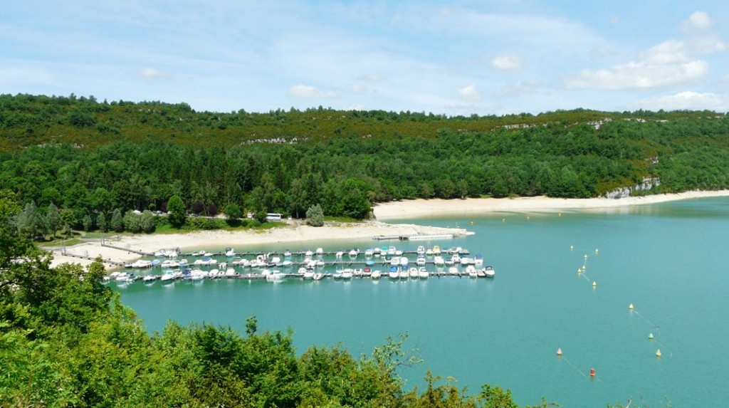 lake vouglans marina